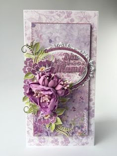 CraftsArt, Card with flowers