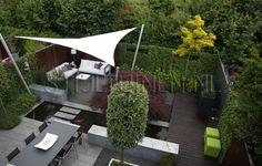 bijzonder-tuinontwerp-moderne-tuin-met-vijver-koikarpers-en-strakke-loungset-zonnezeil-squaricles-roder-acer-tuinontwerp-met-zonnezeil-erik-...
