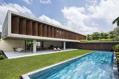 Modern House Design : Kien Giang House by Nhadan