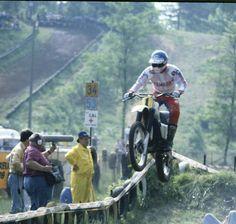 Heikki Mikkola. Wereldkampioen 250cc in 1976. Wereldkampioen 500cc in 1974, 1977 en 1978.