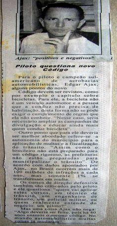 SÓ PARA LEMBRAR - #trânsito - #cursodedireçãodefensiva - #códigodetrânsito - #dirijamelhorcomedgardájax - www.ajax-pucci.blogspot.com