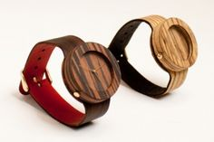 Wooden watches // Analog