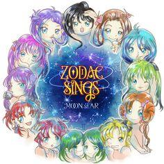 zodiac-signs-Clock-of-Galaxy