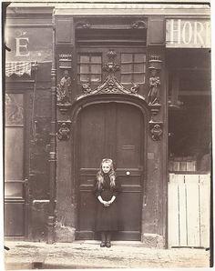 Eugène Atget (French, 1857–1927). Rouen, rue Eau-de Robac, 6, 1908. The Metropolitan Museum of Art, New York. Gilman Collection, Purchase, Sam Salz Foundation Gift, 2005 (2005.100.516)