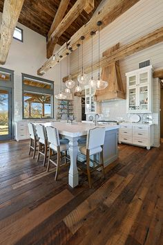 Contemporary Home Decorating Ideas Cool Rustic Ceiling Design Ideas Kitchen.Contemporary Home Decorating Ideas Cool Rustic Ceiling Design Ideas Kitchen Home Decor Kitchen, Home Kitchens, Space Kitchen, Kitchen Sinks, Kitchen Ideas, Barn Kitchen, Kitchen Modern, Kitchen Layout, Kitchen Furniture