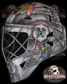 Scott Darlings new mask. please follow me,thank you i will refollow you later
