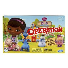 """Doc McStuffins Operation Board Game - Hasbro - Toys """"R"""" Us"""