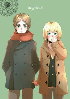 They're just about the cutest things in winter coats! Eremin