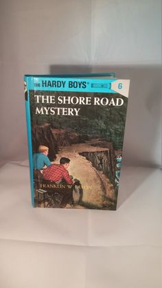 The Shore Road Mystery The Hardy Boys, Franklin W Dixon Hardy Boys book, hardback Hardy Boys mystery book, Vintage Hardy Boys, blue book by FlowerChildTrends on Etsy