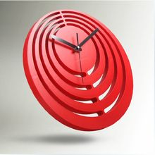 Unique Office Clocks | ... clock plastic Craft refined Home Office room Art decoration Brief