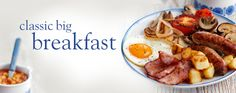 CLASSIC BIG BREAKFAST For Full recipe check it out on Facebook at https://www.facebook.com/SlimmingWorldRecipes