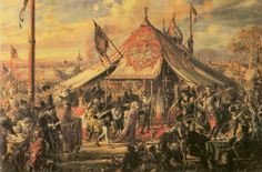 Poland at the Zenith of Power - Golden Liberty - 1573 Election - Jan Matejko