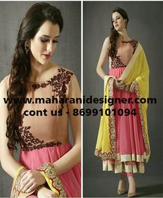 #PartywearAnarkaliSuitsOnline #BollywoodAnarkalisuitsonline #AnarkalisuitsOnlinesale #LonganArkaliSuitsOnline Maharani Designer Boutique  To buy it click on this link  http://maharanidesigner.com/Anarka…/anarkali-dresses-online/ Rs-9100 Fabric - Georgette Hand Work  Fine Quality fabric  For any more information contact on WhatsApp or call 8699101094 Website www.maharanidesigner.com Maharani Designer Boutique