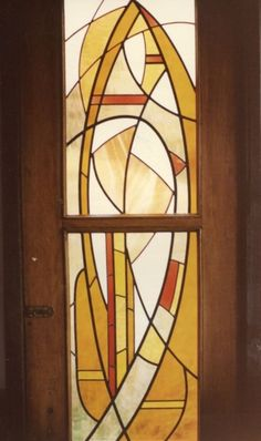 private residence commission Artist G. Tiffany Art, Stained Glass Panels, Mosaic Art, Images, Table Lamp, Soldering, Artist, Painting, Abstract Backgrounds