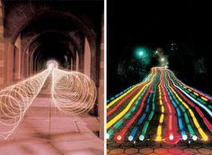 10 Amazing Light Graffiti Artists and Photographers: From Light Writing to Extreme Exposures Reverse Graffiti, Light Writing, Exposure Photography, Photography Tips, Still Life Drawing, Watercolor Projects, Surrealism Painting, High Art, Elements Of Art