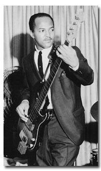 James Jamerson.  Probably one of the most influential bass players of all time in my opinion.