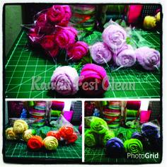Botões de rosas