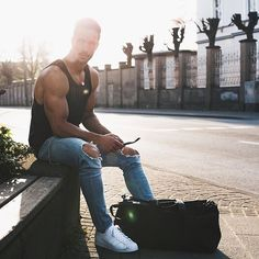 WEBSTA @ magic_fox - hello sunshine ☀️Have a good evening! I am now going for my back workout. What do you train today?!For outfit infos. tap on the photo ––––––––––#tmm #summer