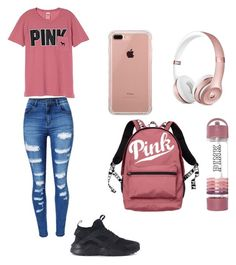 A fashion look from July 2017 featuring pocket tees, patch jeans and victoria secret backpack. Browse and shop related looks. Victoria Secret Backpack, Patched Jeans, School Days, Victoria's Secret Pink, Fashion Looks, Nike, Tees, Polyvore, Shopping