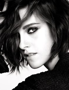 Actress Kristen Stewart returns for yet another Chanel campaign as the face of the French label's pre-fall 2016 collection. Photographed by Karl Lagerfeld, the 26-year-old poses in black and white wearing plunging necklines, lace hosiery and trench coats. Kristen exudes the spirit of an Italian actress in a Paris apartment. Kristen looks seductive with large …