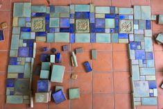 COLORS — Pasadena Craftsman Tile Craftsman Tile, Craftsman Fireplace, Color Games, Warm Grey, Tile Patterns, Kitchen Interior, Furniture Decor, Earthy, Trust