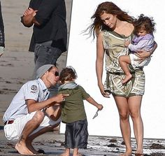 Top Celebrity Fathers: Salsa sensation Marc Anthony with ex-wife Jennifer Lopez and his twins, Emme and Max Marc Anthony And Jlo, Top Celebrities, Celebs, Celebrity Twins, Ex Wives, Jennifer Lopez, Daddy, Singer, Couple Photos