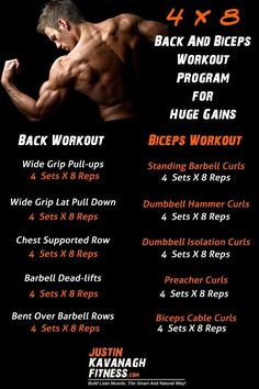 If your looking for a back and biceps workout program you have come to the right place.  In this post I will share with you the exact workout program that I use for training back and biceps. http://www.justinkavanaghfitness.com/back-biceps-workout-program
