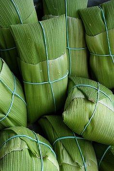 Pamonha de milho verde