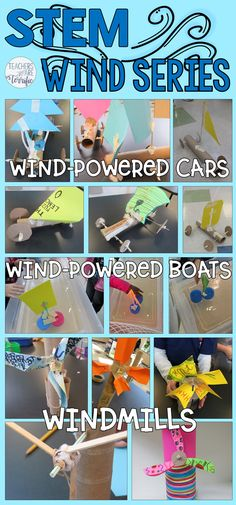 It's March and this set of STEM Challenges is perfect for this windy month! Each deals with using wind power in some way! It's March and this set of STEM Challenges is perfect for this windy month! Each deals with using wind power in some way! Stem Science, Preschool Science, Science For Kids, Life Science, Preschool Plans, Math Stem, Elementary Science, Physical Science, Science Classroom