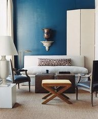benjamin moore blue danube. I love this color, gotta remember this for later