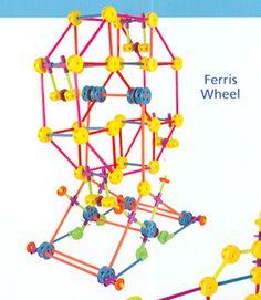 tinker toy ferris wheel