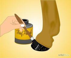 Diy glitter hoof oil