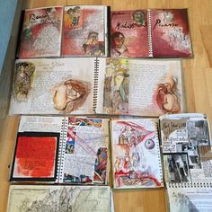 Sketchbooks 2002-3 Illustrated Art history.