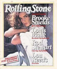 Brooke Shields - Rolling Stone Magazine [United States] (6 April 1978)