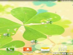 """Lucky Charms Live Wallpaper  Android App - playslack.com ,  Never run out of luck with this Lucky Charms Live Wallpaper! A collection of lucky wallpapers, four leaf clover pictures, green backgrounds and other lucky charms are waiting to bring the luck of the Irish to you! Find a pot of gold somewhere over the rainbow as you watch many lucky coins falling all over your screen! Choose your favorite """"lucky picture"""", set the type of floating charms and enter the magical world of luck and…"""