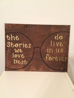 Hey, I found this really awesome Etsy listing at https://www.etsy.com/listing/223669315/harry-potter-stories-we-love-hand