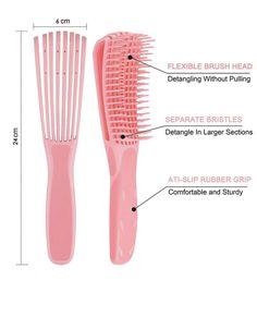 The Coil Effect Detangling Brush – Her Coils Organic