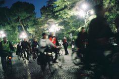 Mi illumino di meno 2011 - Piazza Bra Verona  [foto di Alba Rigo]