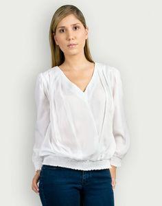 Blusa blanca Eleonora