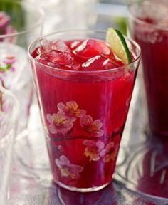 Chá de Hibisco e Maçã