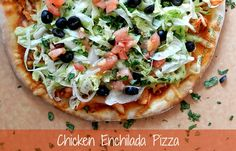 Chicken Enchilada Pizza & surviving - Cooking With Curls cookingwithcurls.com