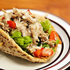 Slow Cooker Middle Eastern Garlic Chicken — Punchfork