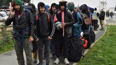 Desalojan 6 mil inmigrantes en Calais