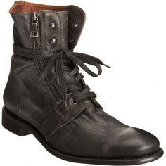 John Varvatos Zip Combat Boot Men Shoes