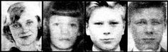 Cold case - The Lake Bodom Murders - In the early hours of June 5, 1960, four teenagers were camping on the shores of Lake Bodom, Espoo, Finland. Between 4 A.M. and 6 A.M., an unknown person or people murdered three of them with a knife and blunt instrument wounding the fourth. Later the sole survivor Nils Gustaffson, 18 (picture right) became a suspect but found not guilty of all charges against him.