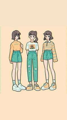 Arte Do Kawaii, Kawaii Art, Cute Art Styles, Cartoon Art Styles, Arte Copic, Character Art, Character Design, Drawing Anime Clothes, Art Inspiration Drawing