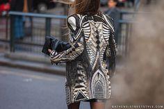 Paris Fashion 2014 | ... clutch bag erica pelosini jacket paris paris fashion week fall 2014