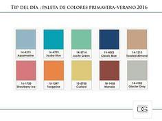 Paleta de colores SS  20 16