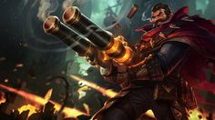 Graves New Splash Art 2014 League of Legends Game 1920x1080