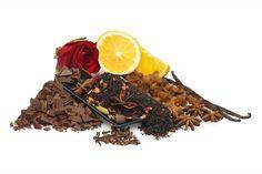 Beijo da cereja (chocolate, chá preto da cereja)